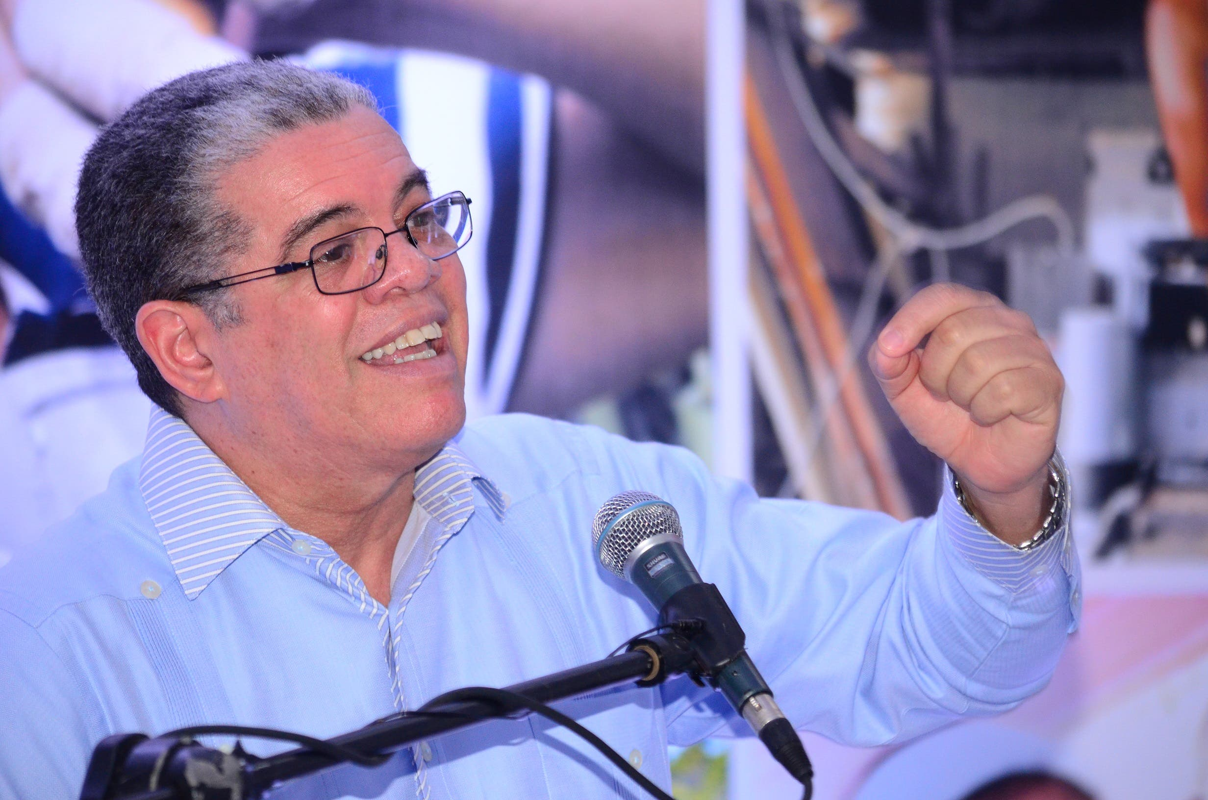 Amarante Baret dice oposición con sus críticas demuestra que no tiene sentido de la realidad
