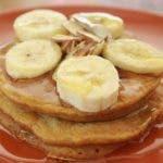 Pancakes de auyama, una deliciosa y fácil opción para desayunar.