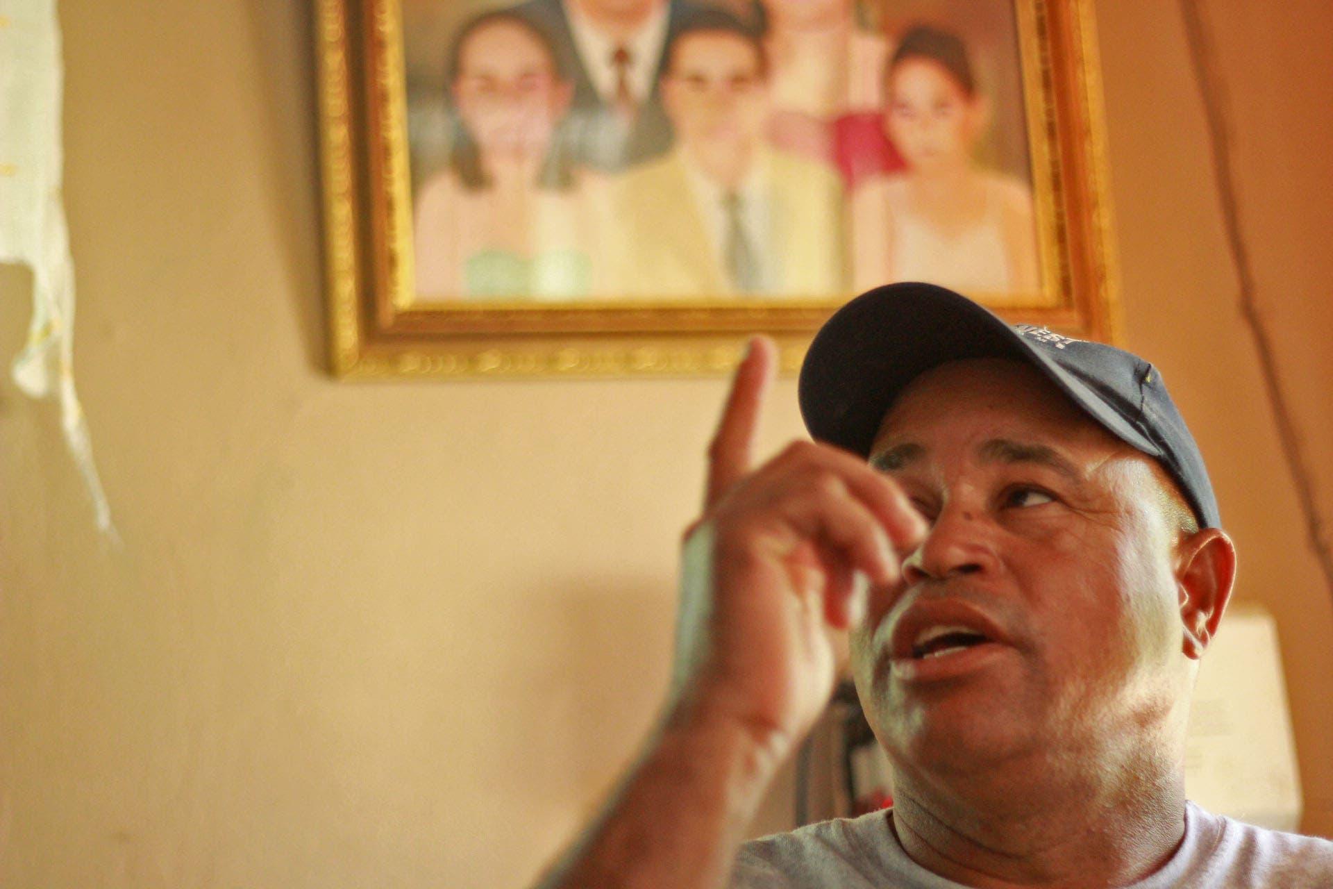 Genaro Peguero, padre de Emely, confía en que su caso no quedará impune. Foto:Elieser Tapia/El Día.