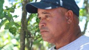 Genaro Peguero, padre de Emely. Foto  Elieser Tapia/archivo.