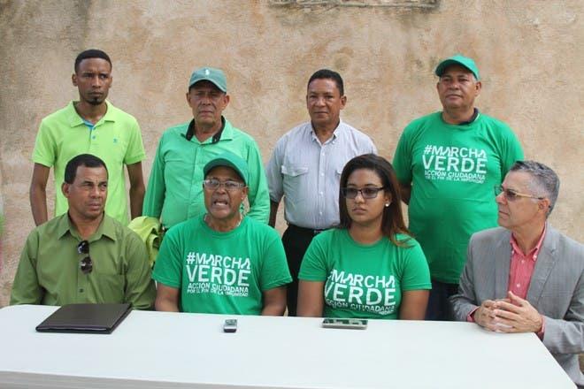 Marcha Verde se moviliza este domingo en Sánchez Ramírez y Barahona