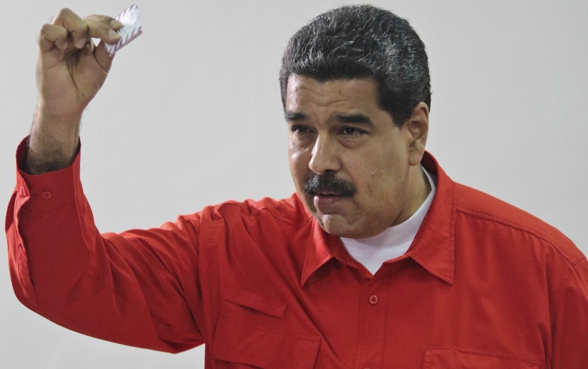 Nicolas Maduro, presidente de Venezuela.