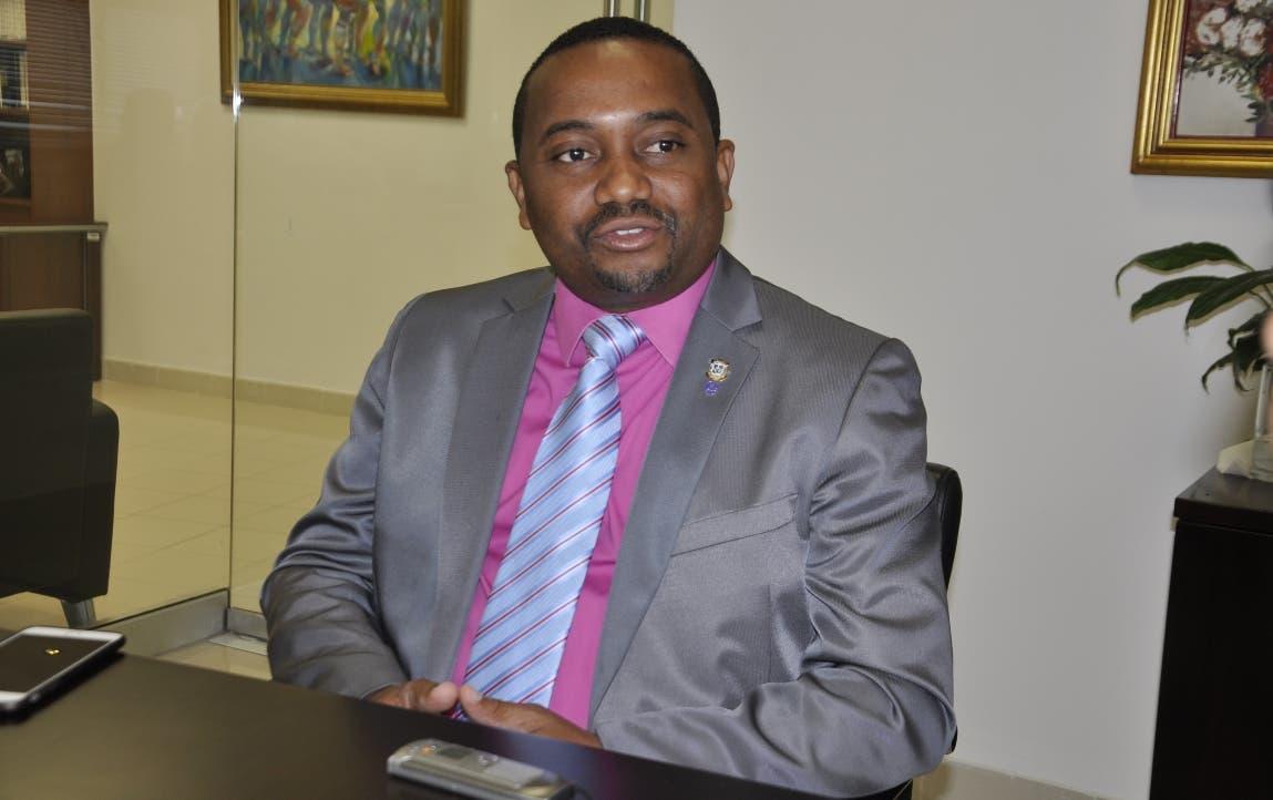 René Polanco, alcalde de Santo Domingo Norte. Archivo