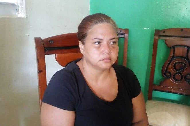 Rosanny Saviñón, madre del adolescente de 16 años asesinado.