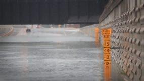 Aeropuerto de Houston cerrado por inundaciones tras impacto de huracán Harvey