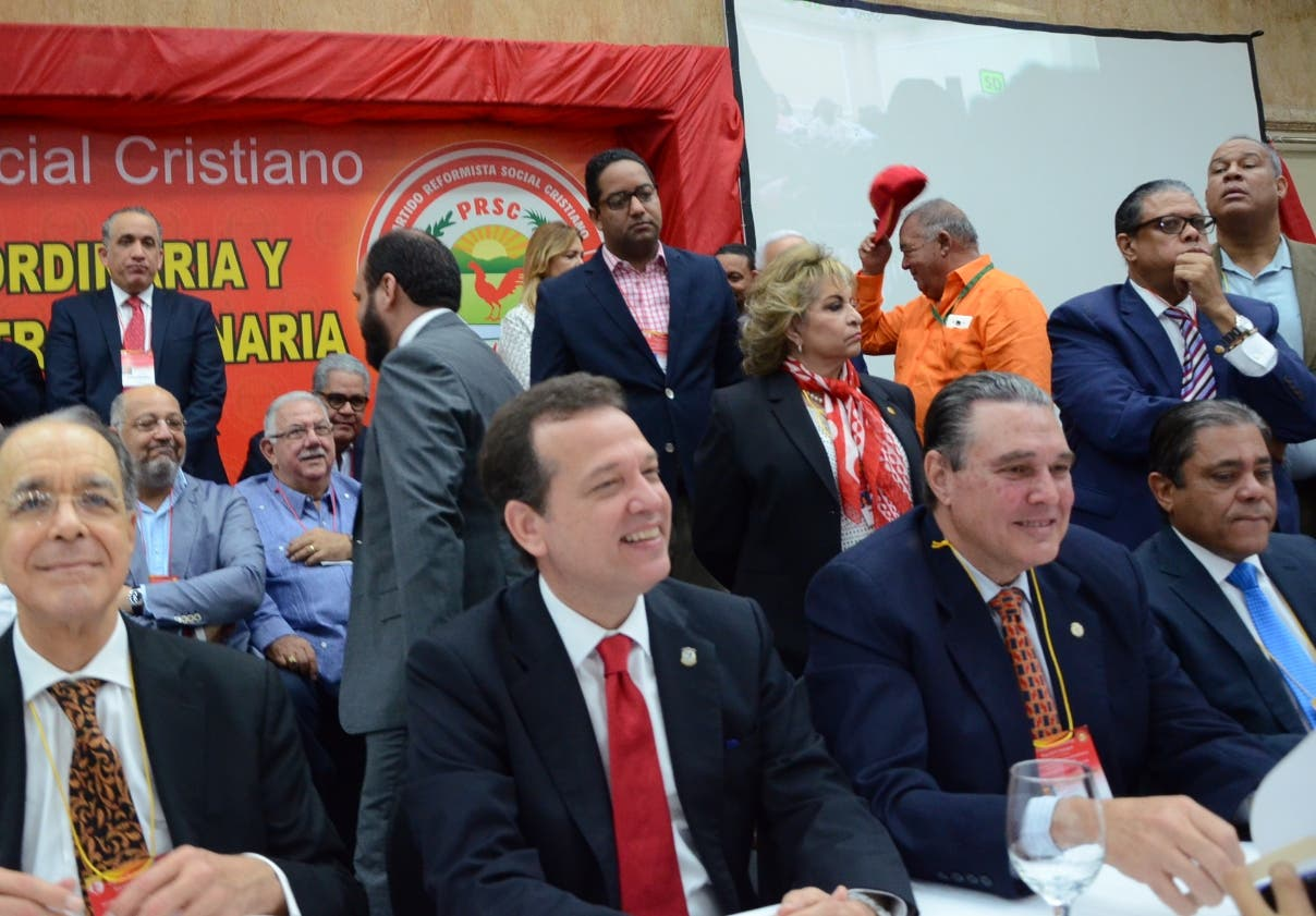 Facción del PRSC encabezada por Ito Bisonó dice asumirán dirección del partido en enero