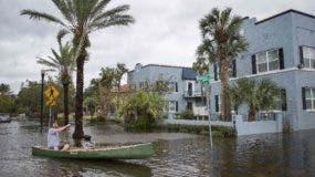 """La magnitud  del daño causado por """"Irma"""" comenzó a ser un tema de atención federal."""