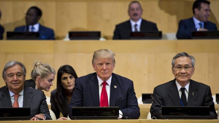 Washington impulsa  una declaración apoyada por 126 países que exige profundas reformas en la Organización de  Naciones Unidas.