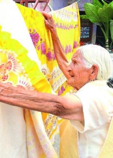 Anciana revela el secreto de sus 116 años