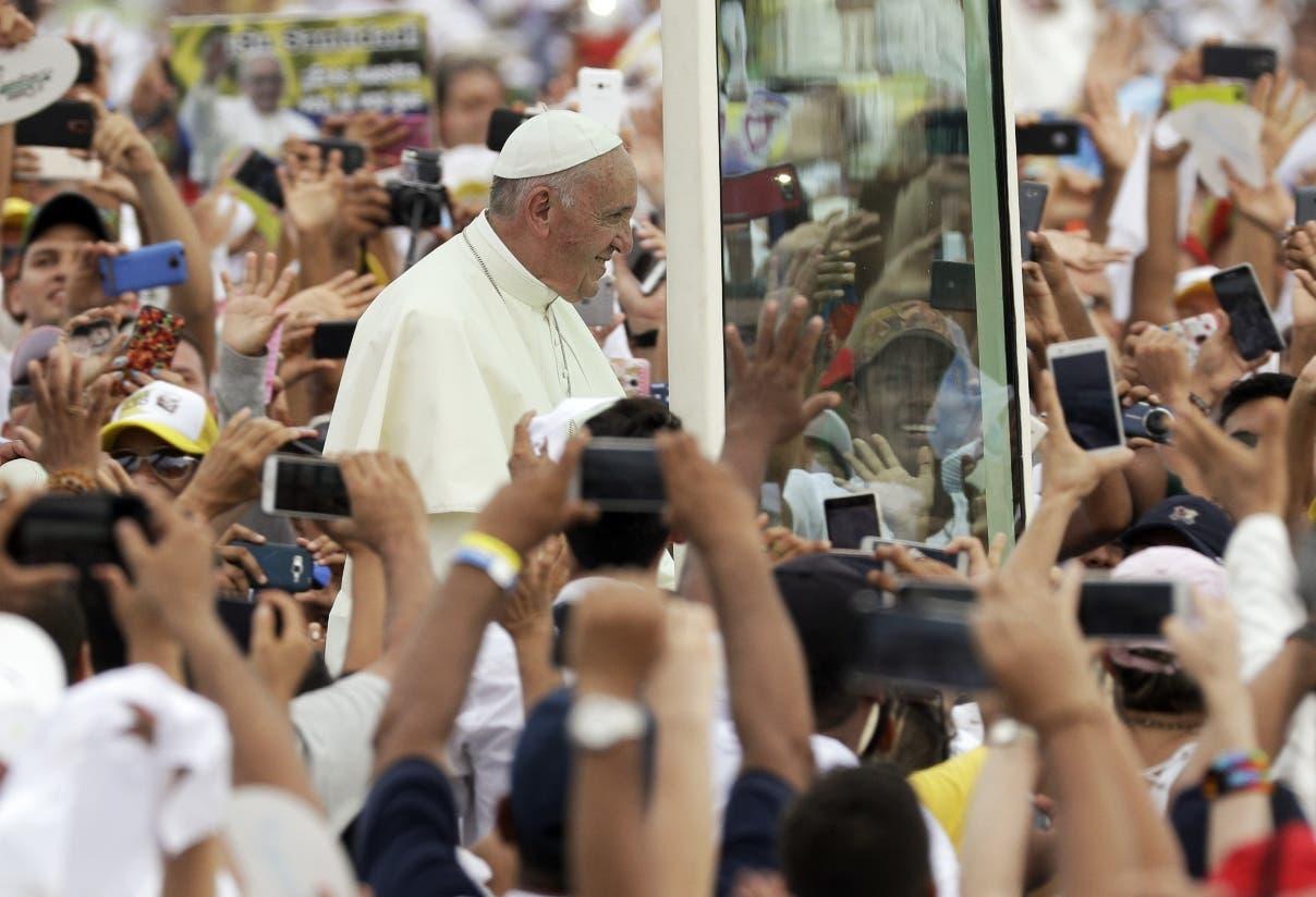 Con la condena al narcotráfico, el papa Francisco puso fin a la visita de cinco días a Colombia.