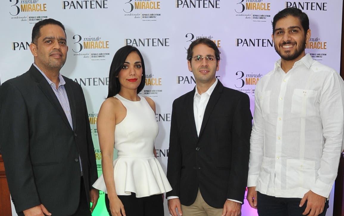 Sirio Martín, Laura Lizardo, Antonio González y Franklyn Ceballos.