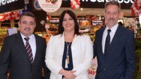 Gerardo García, Arlette Camilo y Olivier Pellin.