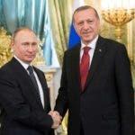 Los presidentes Putin y Recep Tayyip Erdogan pactan paz Siria.