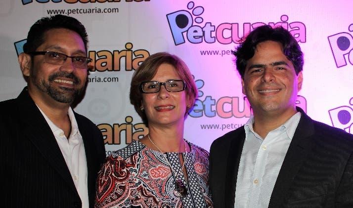 Luis Rojas, Rocío Guevara y  Miguel Sainz.