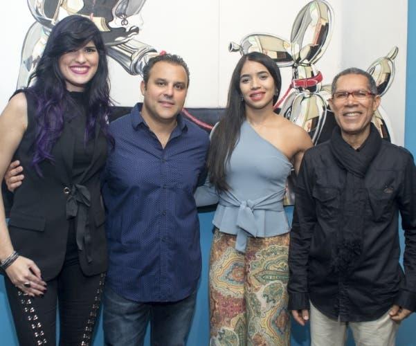 Pamela Rivera, Eduardo Asmar, Faracci Amaro y Amable López Meléndez.