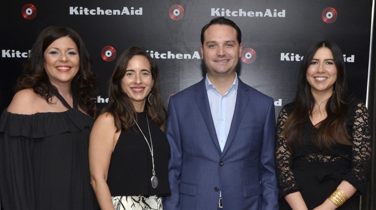 Gemisol Landaeta, Alejandra Bonelly, Carlos Barbery y Ana María Ruiz.