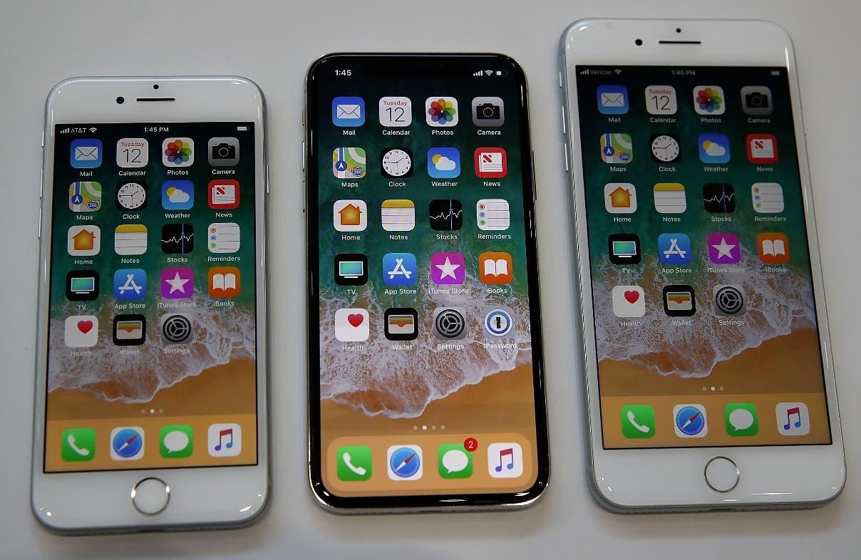 El nuevo iPhone 8, iPhone X y el  iPhone 8S lanzados ayer al mercado a nivel mundial.