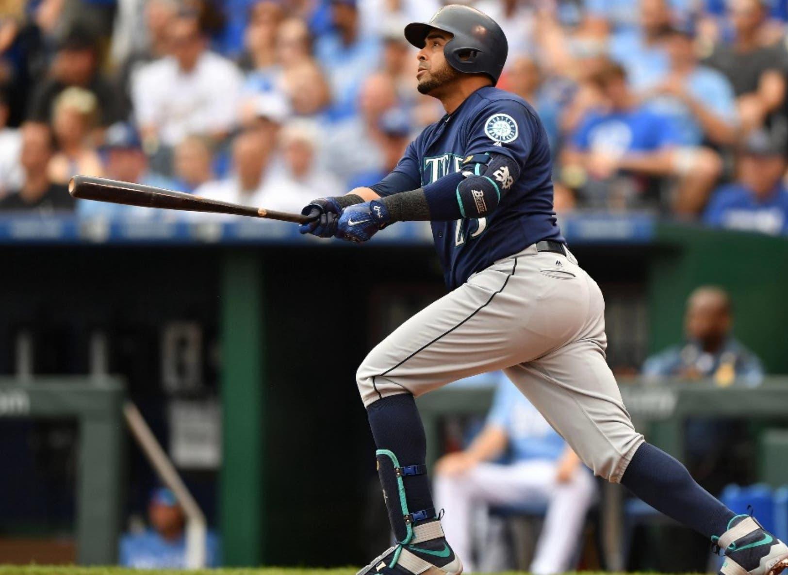 El dominicano Nelson Cruz, a pesar de su edad, se mantiene como uno de los bateadores de mayor poder en las Grandes Ligas.