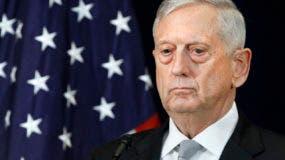El jefe del Pentágono, James Mattis.