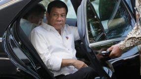 El presidente Duterte, que tenía eventos programados por la tarde en Manila, no se hallaba en las dependencias del Palacio de Malacañán en el momento del incidente,