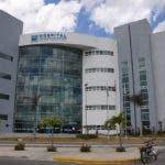 Fachada del hospital Ney Arias Lora.