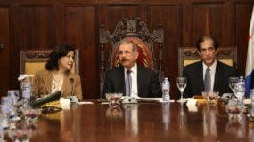 El Consejo de Ministros estuvo encabezado por el presidente Danilo Medina