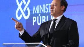 El procurador Jean Alain Rodríguez pidió  a a la población que le dé su apoyo al Ministerio Público .