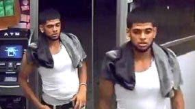 """Este hombre es buscado por un  robó en el establecimiento comercial """"Candy Store"""" (St. Nick) ubicado en el 1572 de la avenida Saint Nicholas con la calle 189, en el sector de Washington Heights, en el Alto Manhattan."""