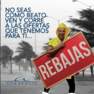 No seas como #Beato, ven y corre hacia las ofertas que tenemos para ti!