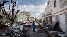 TOPSHOTS Saint-Martin après le passage de l'ouragan Irma
