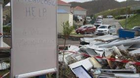 En Antigua y Barbuda el huracán Irma dejó zonas completamente devastadas. AFP