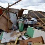Una vivienda destruida por el huracán María en  Vega Baja, Puerto Rico. AFP/Archivo.