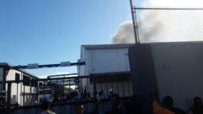Ejecutivos de la empresa dijeron que las operación no se vieron afectadas por el incendio.