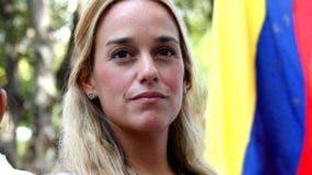 Tintori esposa del dirigente opositor venezolano Leopoldo López, relacionada con la confiscación de una elevada suma de dinero .