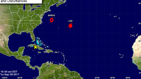 María, que a su paso la pasada semana por el Caribe dejó enormes daños materiales y más de medio centenar de víctimas mortales.