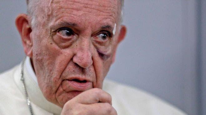Para dar cuenta de la inmediatez del cambio climático el papa Francisco hizo referencia al deshielo en el Polo Norte.