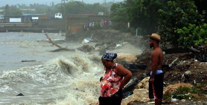 En esa populosa barriada de Puerto Plata con el reciente paso del huracán Irma, decenas de casas resultaron destruidas.