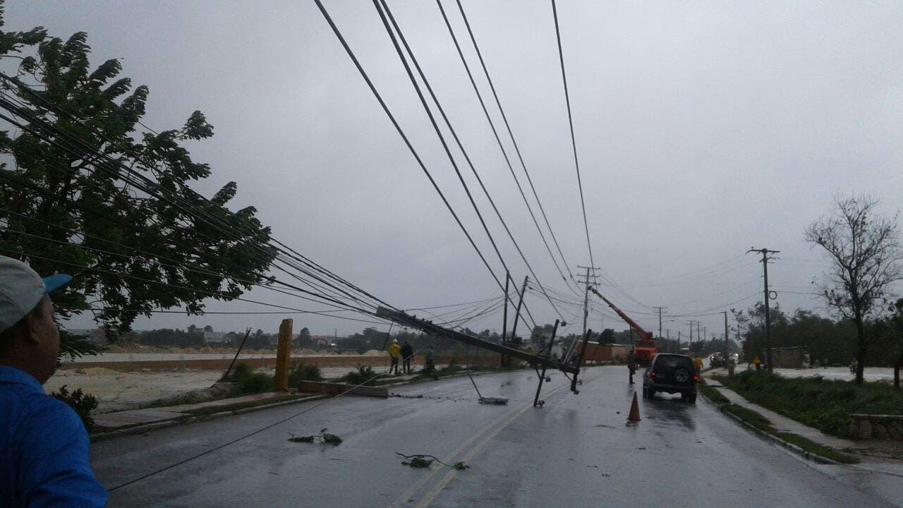 Alerta para nueve provincias dominicanas por amenaza de huracán