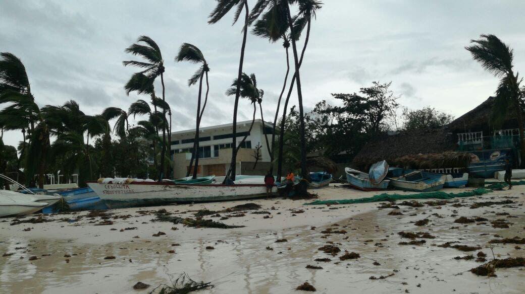 Las instalaciones hoteleras de Punta Cana y otros lugares del Este de República Dominicana no sufrieron daños graves a consecuencia del huracán María. Foto: Alberto Calvo/El Día.