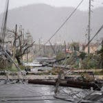El huracán María provocó la devastación total del sistema energético de la isla. Foto de archivo.