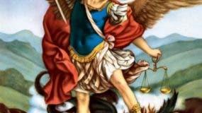 San Miguel es considerado príncipe de la milicia celestial, por haber vencido al Maligno en singular batalla celestial contra los ángeles que se rebelaron ante la majestad de Dios.