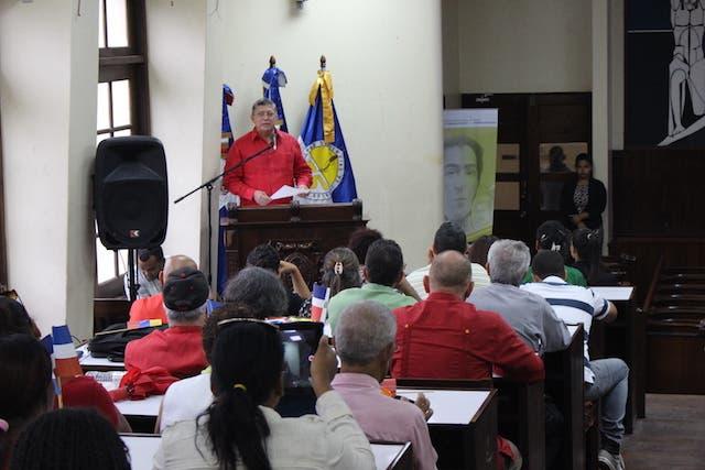 Organizaciones sociales dominicanas respaldan proceso revolucionario Nicolás Maduro