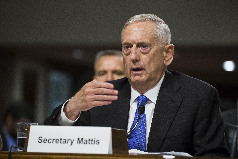 Mattis no especificó qué tipo de arma nuclear conllevaría una reacción militar estadounidense.