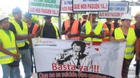 Los empleados de Segenca afirman están en la quiebra.