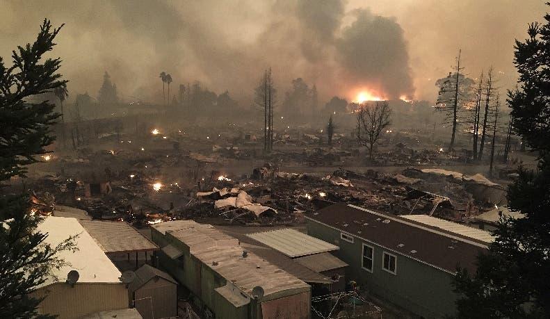 El fuego ha provocado daños materiales de consideración.