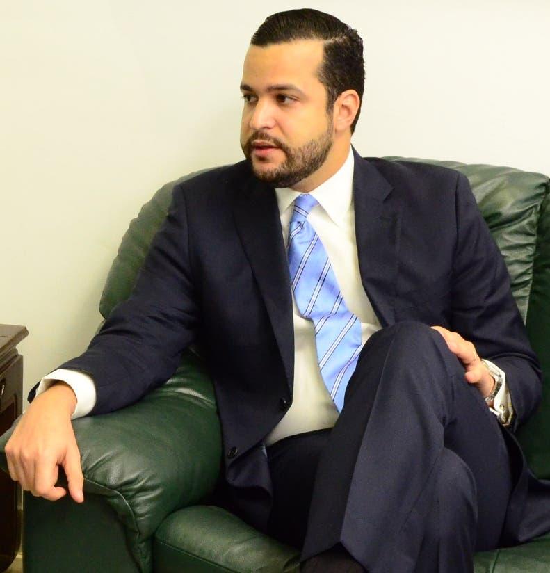 Rafael Paz hizo una visita al director de EL DÍA, José P. Monegro.