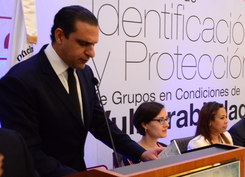 Servio Tulio Castaños recomendó mejorar independencia judicial.