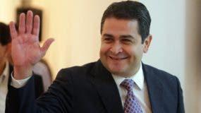 Presidente de Honduras, Juan Orlando Hernández. Foto de archivo.