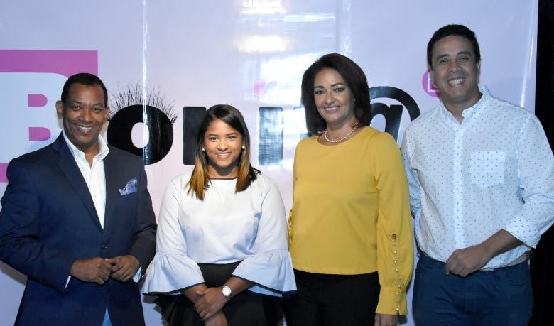Félix Hungría, Katherine Hungría, Sandra Rivera y Roberto Concepción.