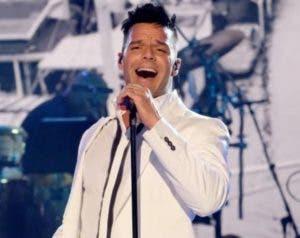 Ricky Martín interpretó varias canciones.